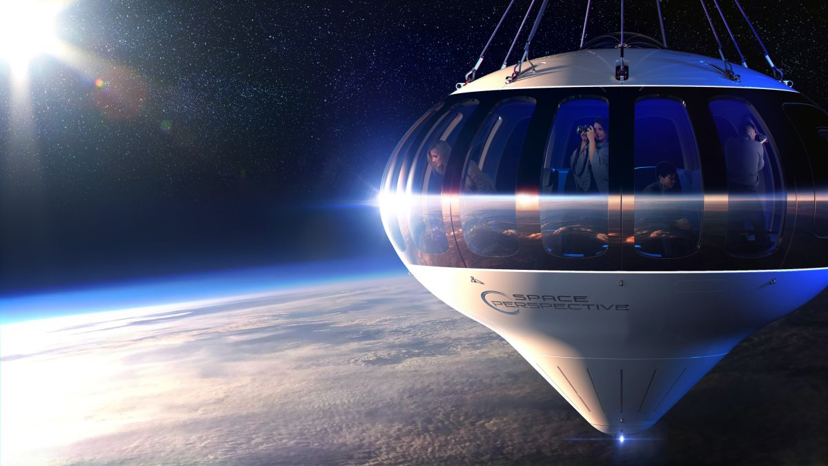 Space Perspective wants to take tourists on balloon rides to the stratosphere