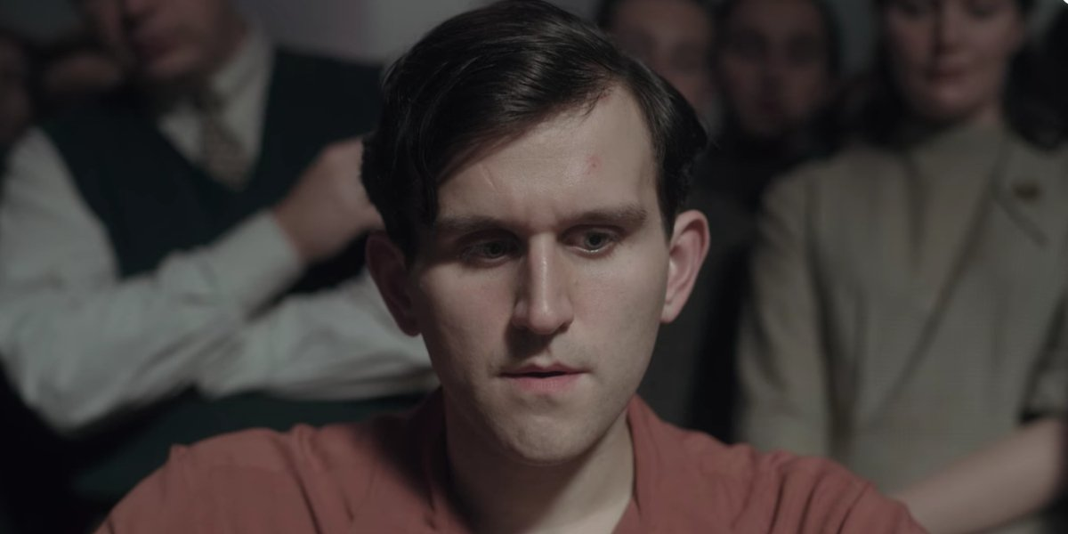 Harry Melling in The Queen's Gambit