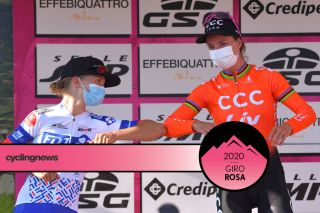 Cecilie Uttrup Ludwig second to Marianne Vos on stage 3 at Giro Rosa