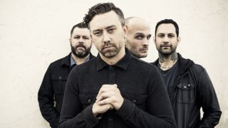 A press shot of rise against