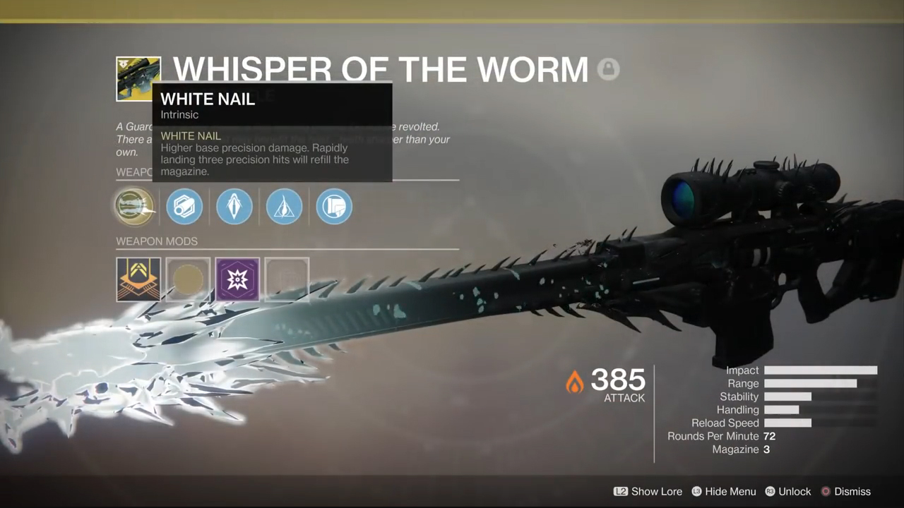 Destiny 2 Whisper of the Worm: How to get the coveted Exotic