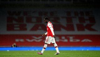 Eddie Nketiah Arsenal VAR