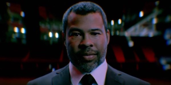 Jordan Peele in The Twilight Zone super bowl ad