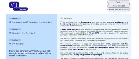 VT Cash Book