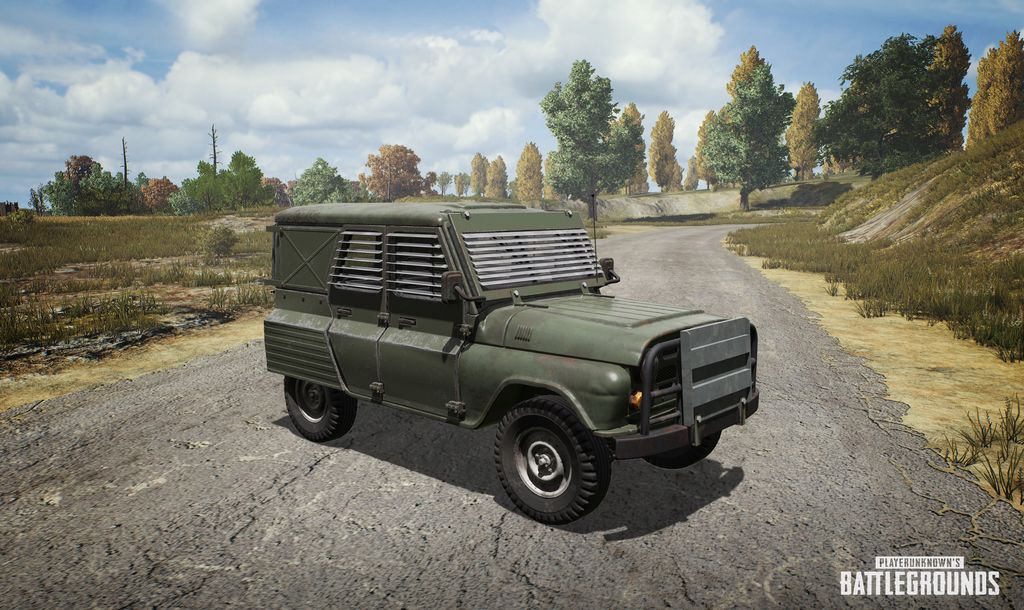 PUBG 'Metal Rain' event has eight-player squads, flare guns and falling UAZs