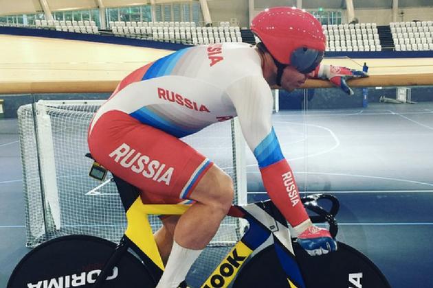 Australian track sprinter Shane Perkins thanks Vladimir Putin after gaining Russian citizenship