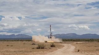 SARGE suborbital rocket launch