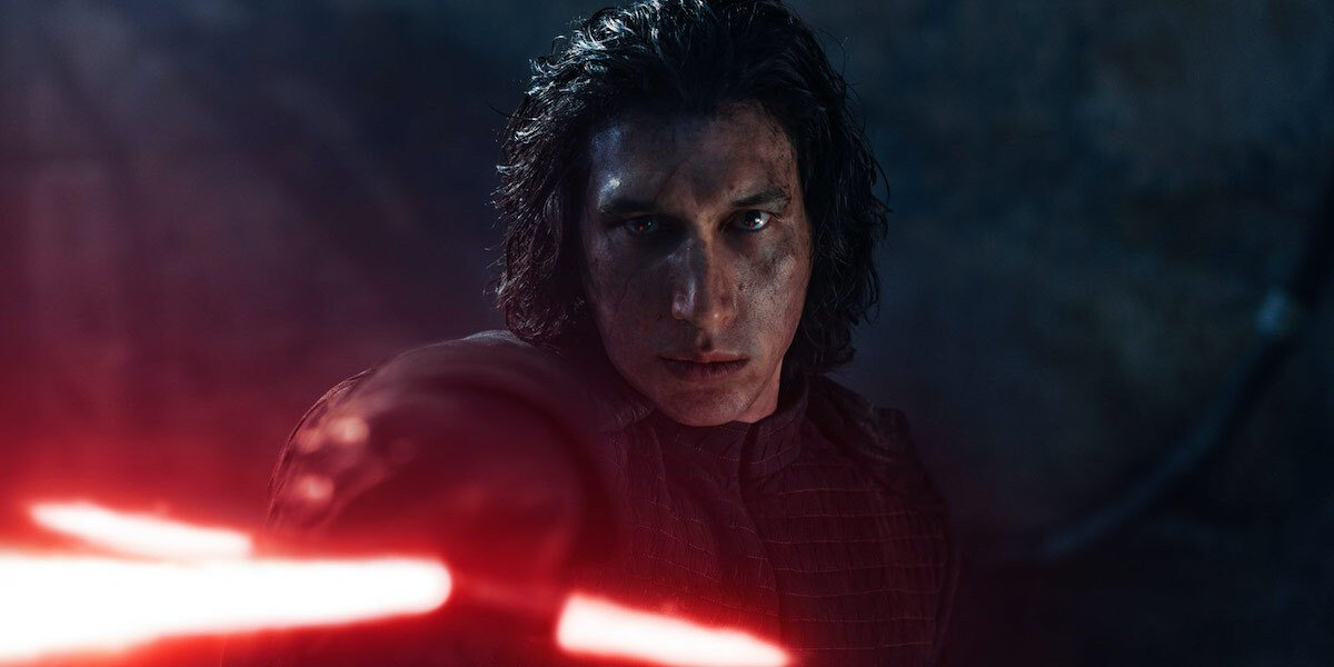 Adam Driver in Star Wars: The Rise of Skywalker