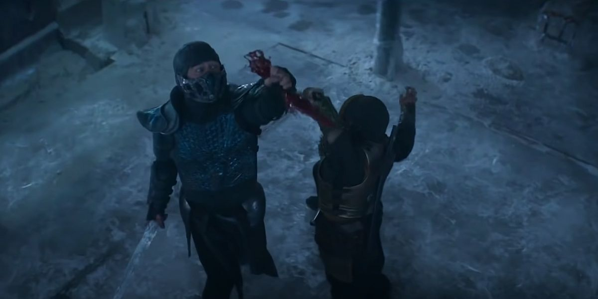 Sub Zero and the knife of blood