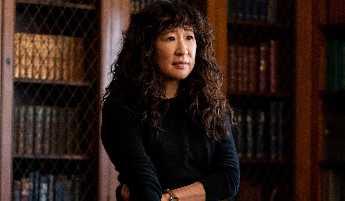 Sandra Oh in The Chair on Netflix