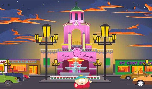 Cartman at Casa Bonita on South Park