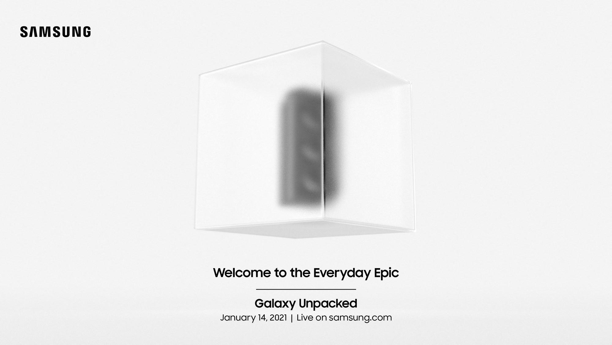 Samsung Unpacked 14 января 2021 г.