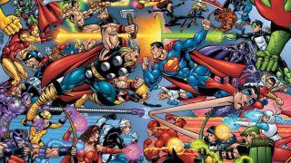 Image from Avengers Vs. JLA