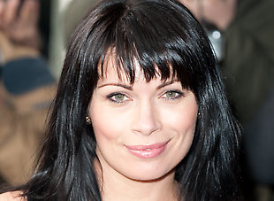 Alison King: 'I watch Corrie through my fingers!'