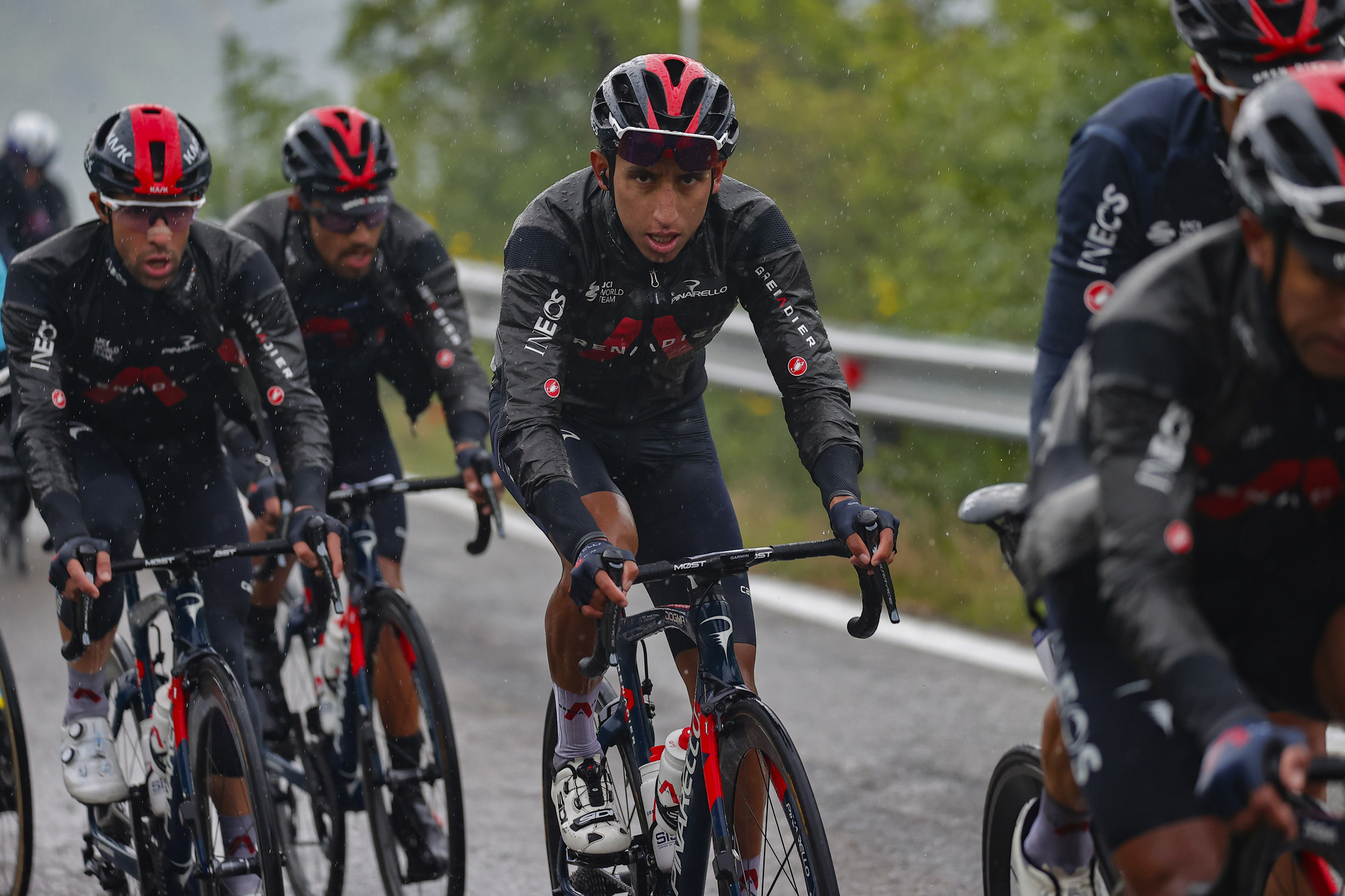 Giro d'Italia 2021 - 104th Edition - 4th stage Piacenza - Sestola 187 km - 11/05/2021 - Egan Bernal (COL - Ineos Grenadiers) - photo Luca Bettini/BettiniPhoto©2021