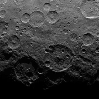 Dwarf Planet Ceres Missing Craters