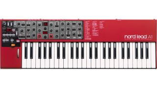 The Nord Lead A1 is red, you won't be surprised to learn.