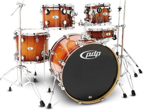 The all-maple kit sits in the middle of the PDP range, but aims near the top