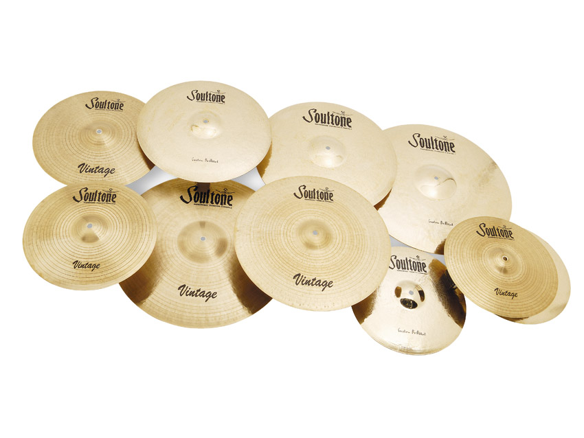 Soultone Cymbals (Vintage and Custom Brilliant ranges