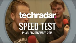 Phablet speed test