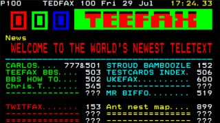 Ceefax online dating
