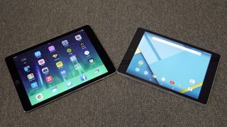 iPad Air vs Nexus 9