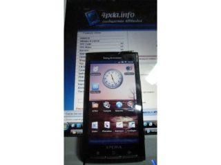 Sony Ericsson's Xperia X3 - again