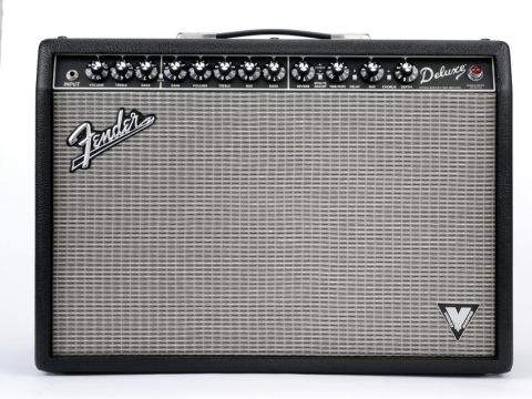 The VM Combo replicates the look of classic Fender blackface amps