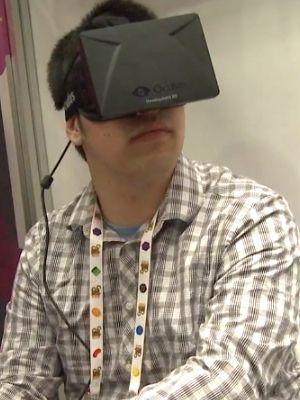Oculus Rift hands-on demo