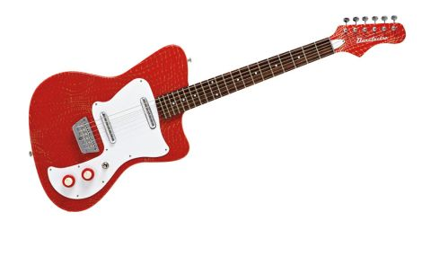 The '67 Heaven Hawk recalls Danelectro's original Hawk design with a bonkers new finish