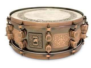 Mapex's Special Edition Black Panther snare