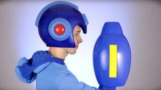 Mega Man replica helmet Mega Man replica helmet