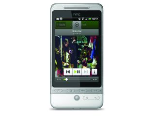 HTC Hero and Spotify - new home on 3