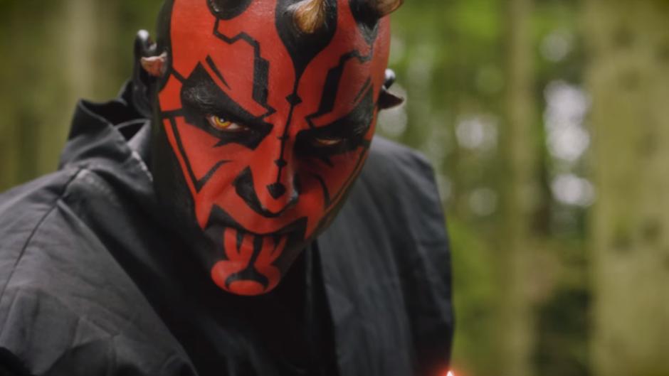 Watch Darth Maul fight six Jedi in this impressive Star Wars fan film