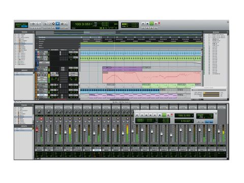 Pro Tools 9 feels very familiar, with no major headline-grabbing changes within the interface.