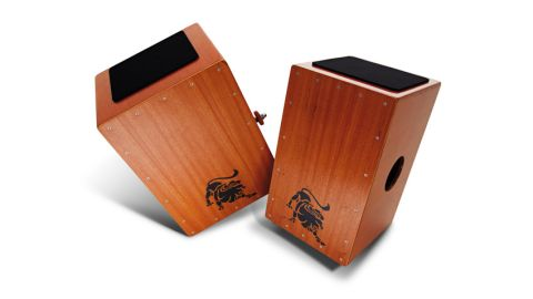 At 34cm, the Pro-Active Bass cajon (left) is slightly wider than most cajons on the market