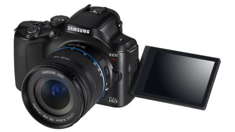Samsung NX20 Camera Vista