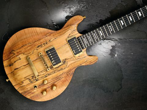 Check out that figured spalted maple top
