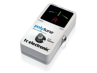 TC Electronic PolyTune: makes tuning string-by-string a thing of the past.