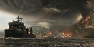 Jurassic World: Fallen Kingdom volcano