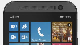 The HTC One (M8) running Windows Phone is apparently real and here it is