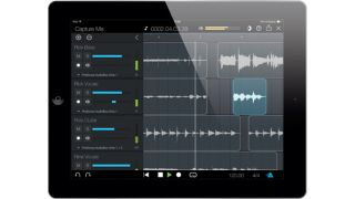 Capture is designed to help you record audio fast.