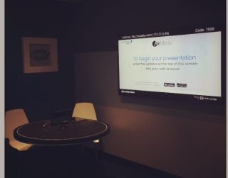 Crestron Demos AirMedia for Huddle Room Content Sharing