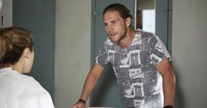 Ash Ashford confronts Billie Ashford in Home and Away