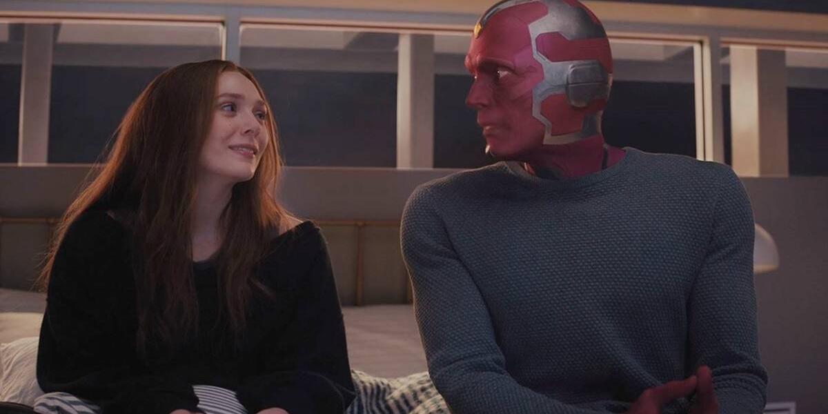 Wanda and Vision in WandaVision.
