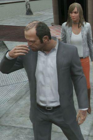 GTA 5: Trevor tries to be 'nice'