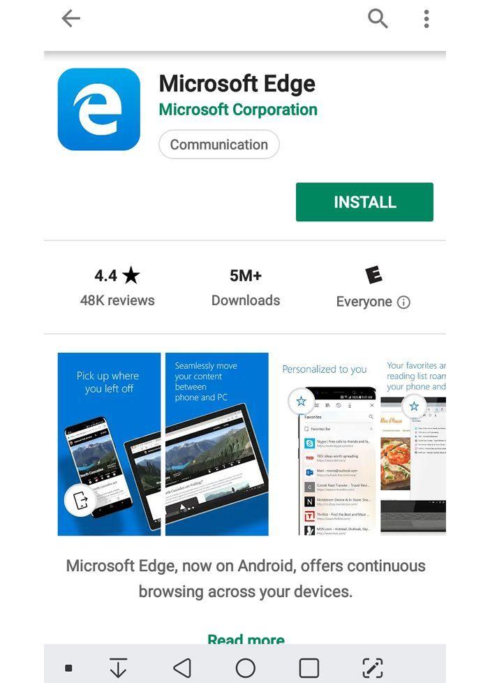 Microsoft Edge Review | Top Ten Reviews