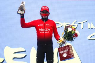 Vuelta Asturias 2021 - 64th Edition - 1st stage Oviedo - Pola de Lena 184,5 km - 30/04/2021 - Nairo Quintana (COL - Team Arkea - Samsic) - photo Luis Angel Gomez/BettiniPhoto©2021