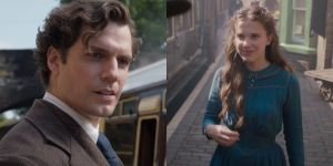 Get Pumped For More Of Henry Cavill's Luscious Locks As Millie Bobby Brown Shares Netflix's Enola Holmes 2 News