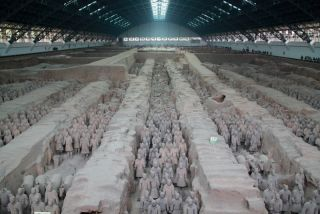 terracotta warriors in china